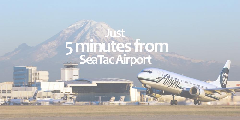 Kush21 - 5 Minutes from SeaTac Airport