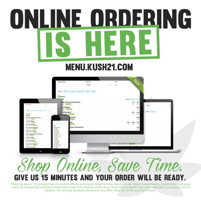 Online Ordering Kush21