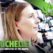 Michelle Budtender of the Month. Seatac Recreational Cannabis. Kush21.