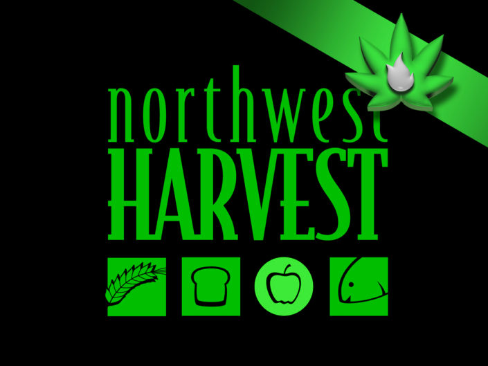 Northwest Harvest Food Drive at Kush21. Seatac Recreational Cannabis Dispensary