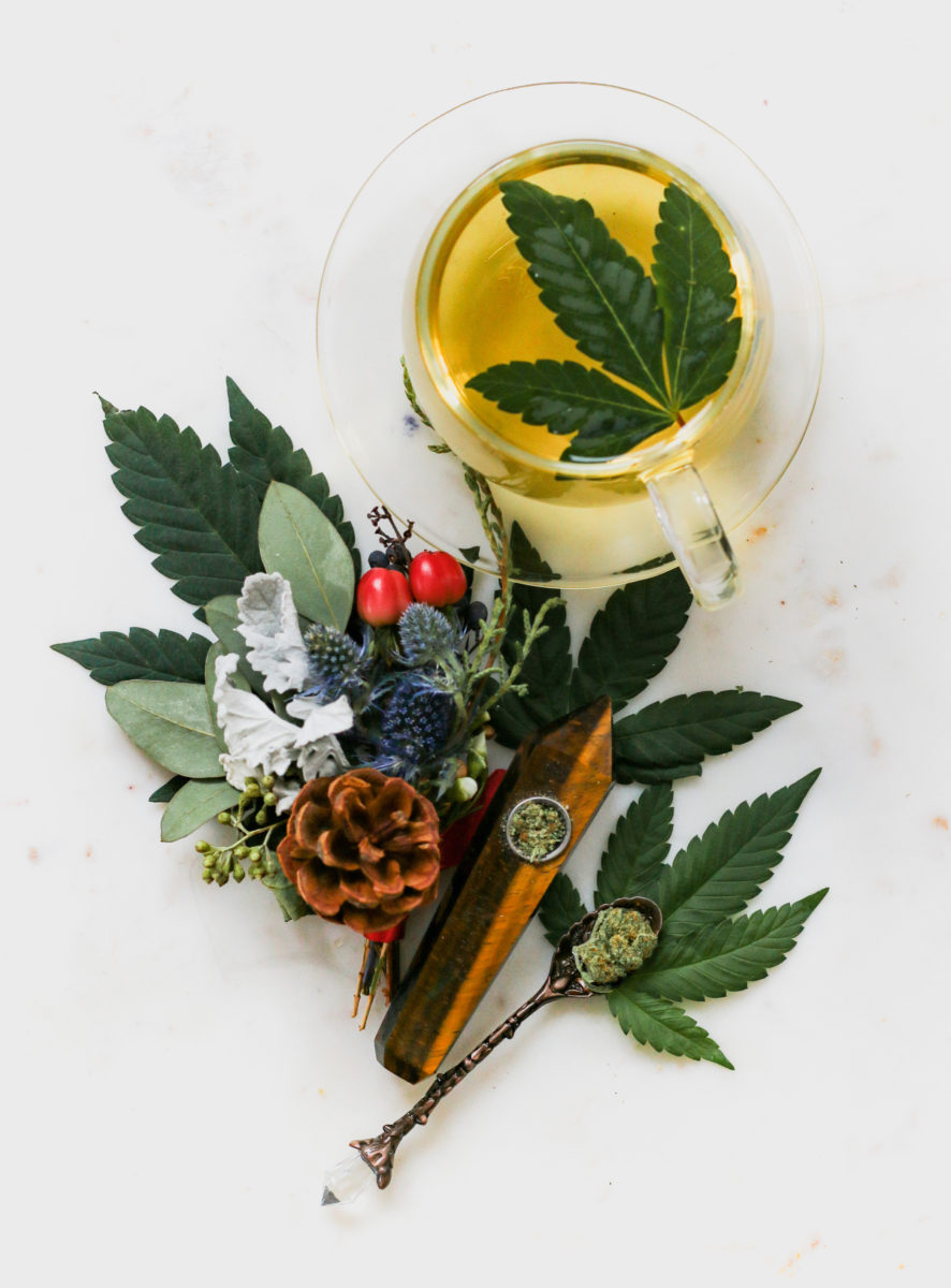 cannabis tea for relaxation