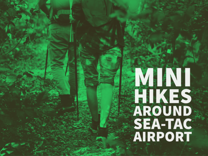 Mini Hikes around SeaTac