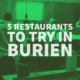 Restaurants to Try in Burien