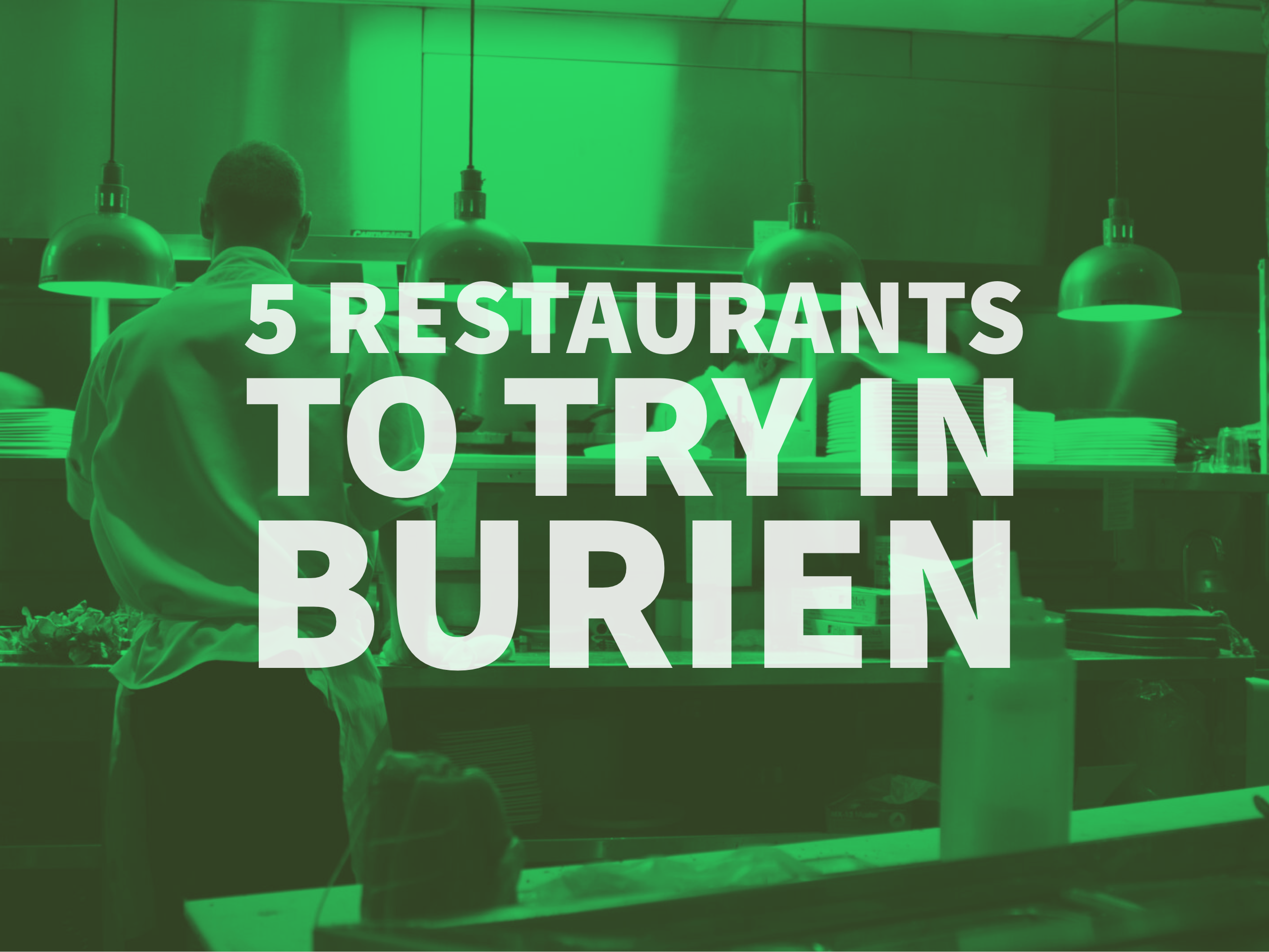 5 Restaurants to Try in Burien, WA