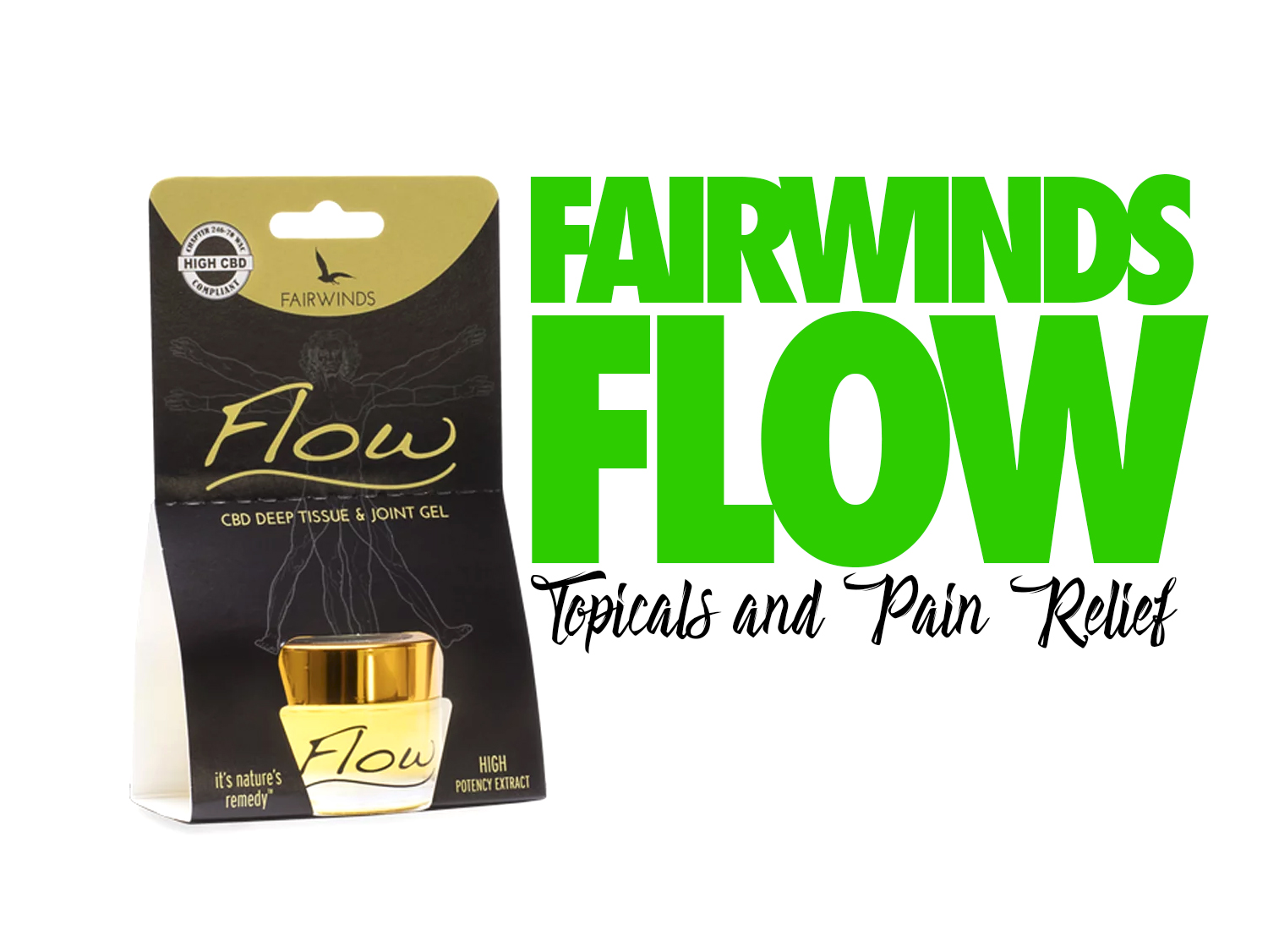 Fairwind's Flow Gel: CBD Topicals and Pain Relief