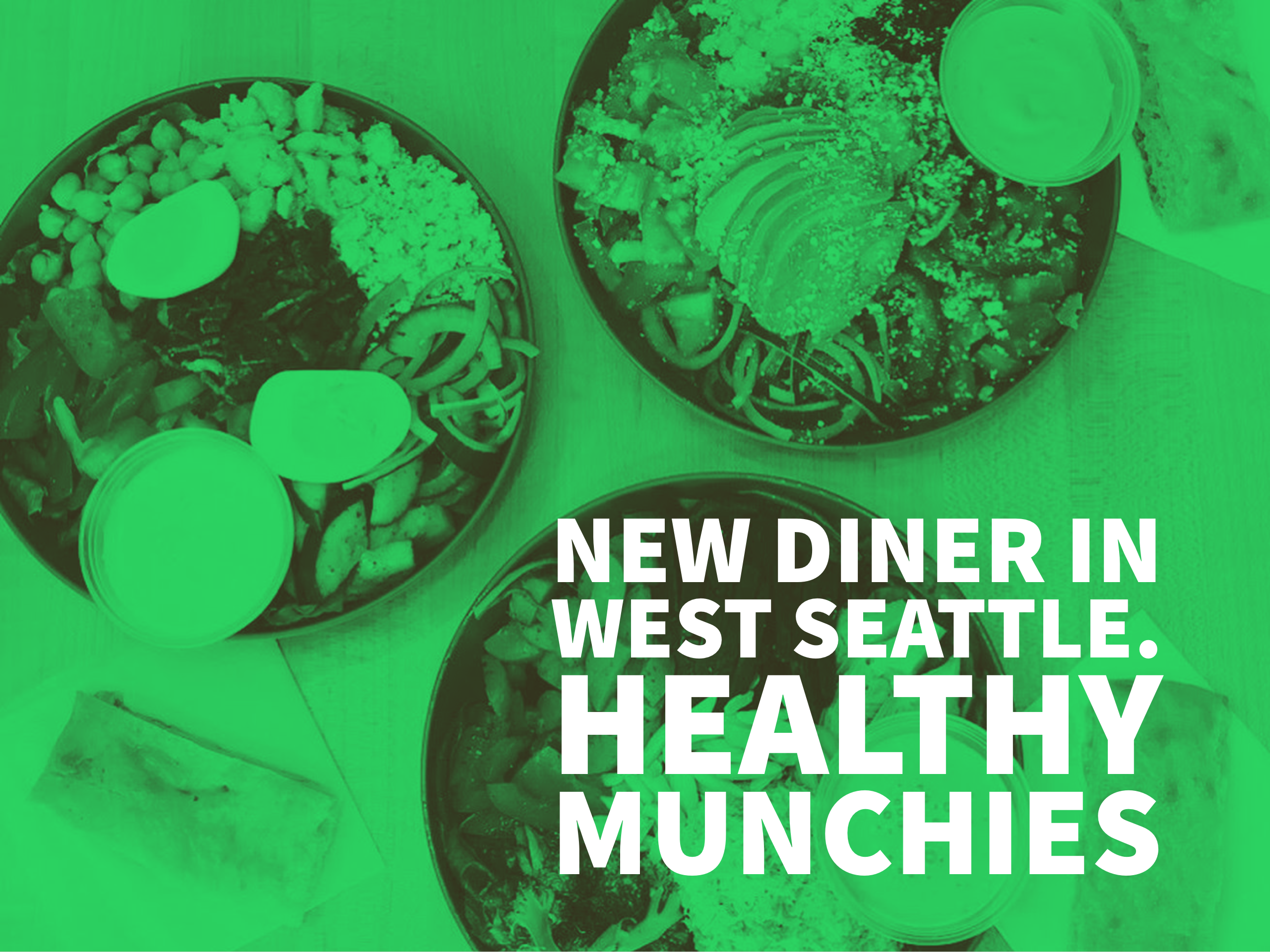 West Seattle Just Got a New Diner That Leans Toward Healthy Dishes