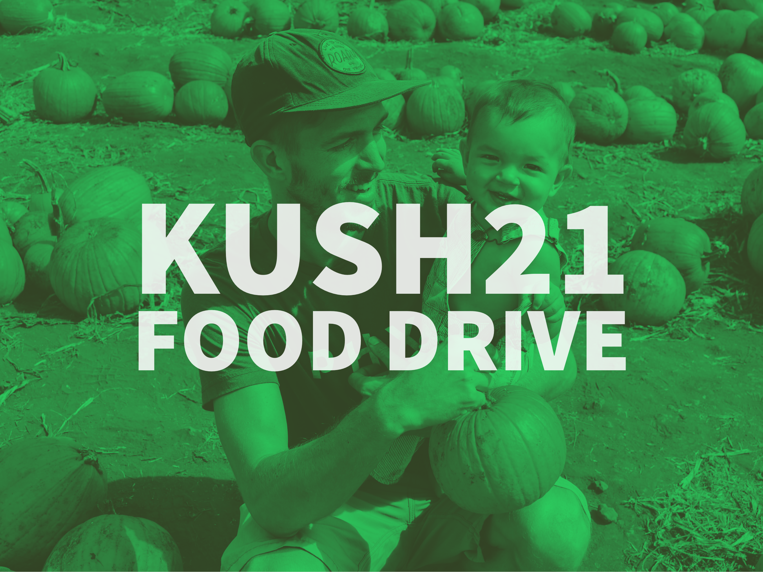 Kush21 Food Drive with Northwest Harvest