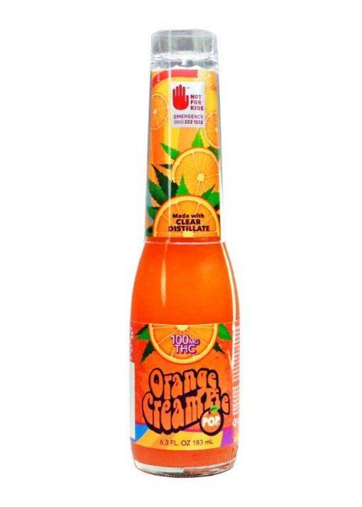 Orange Cream Cannabis Infused