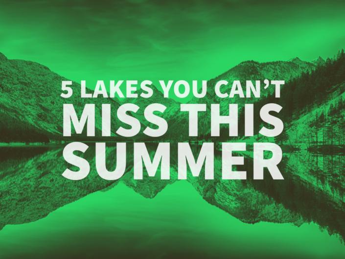 Washington Lakes to See this Summer
