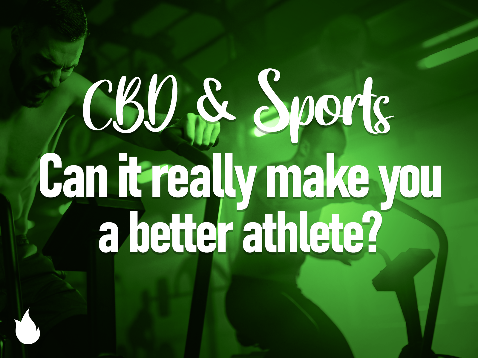 CBD & Sports: Can It Really Make You a Better Athlete