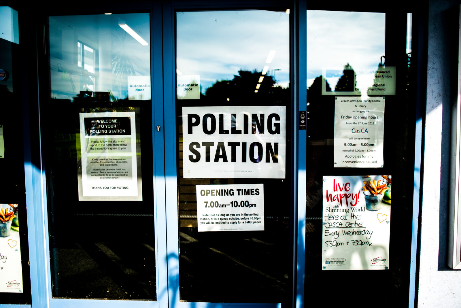 Polling Station for Cannabis