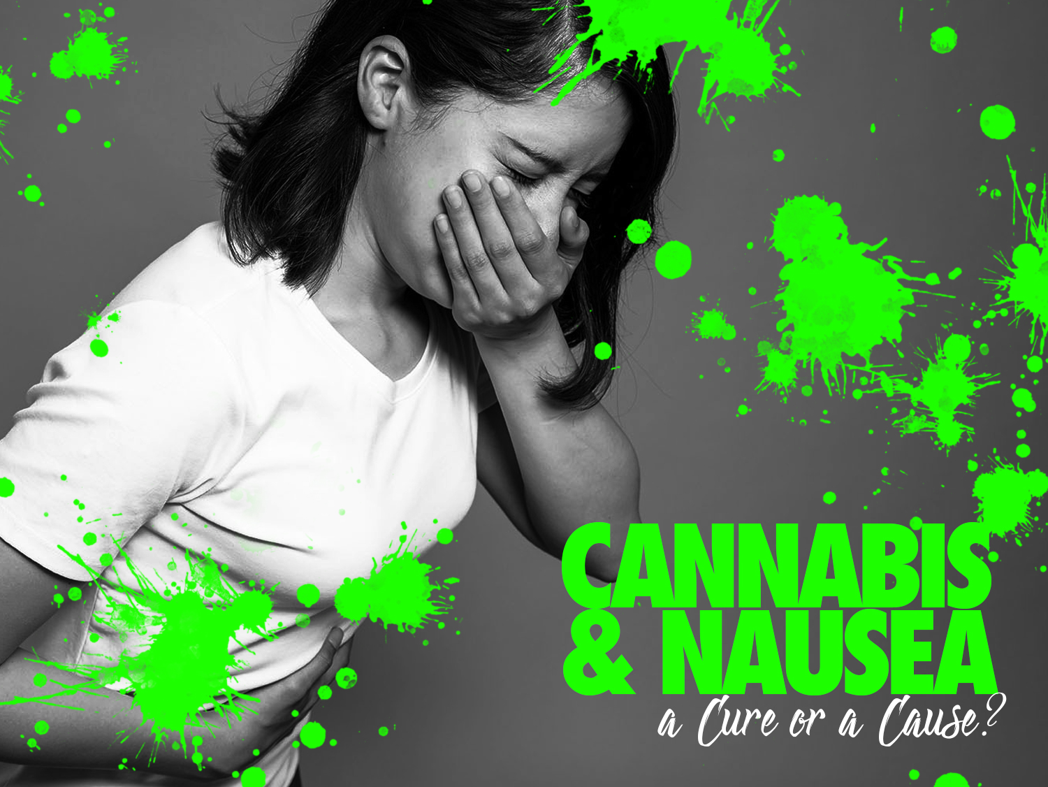 Cannabis and Nausea. Cure or Cause?