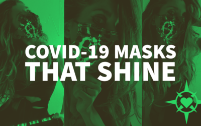 COVID-19 Masks that Shine