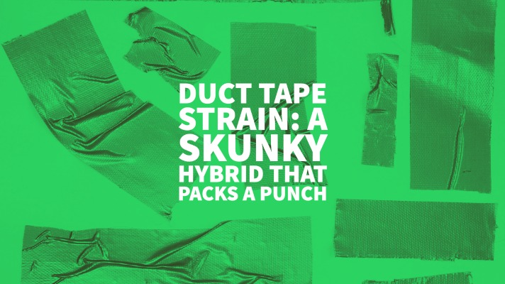 Duct Tape Strain: A Skunky Hybrid That Packs A Punch