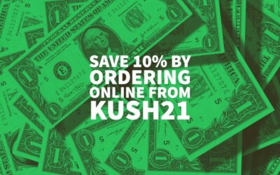 Save 10% By Ordering Online From Kush21